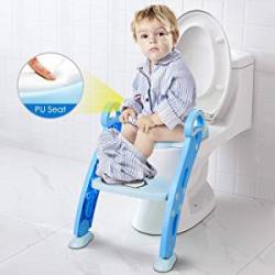 Chollo - Amzdeal Asiento WC Escalera para Niño Aseo Asiento