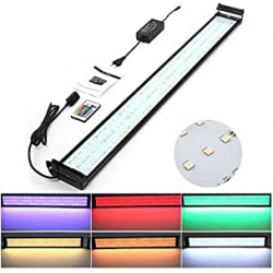 Chollo - Amzdeal Lámpara Acuario Luces Impermeable LED