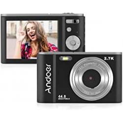 Chollo - Andoer 44MP 2.7K Mini cámara digital   D9337