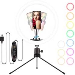 Chollo - Anillo de luz LED ELEGIANT Selfie Ring Light 10''