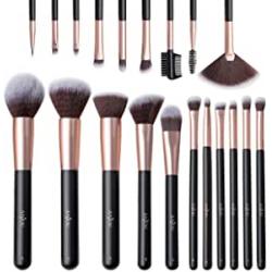 Chollo - Anjou Set brochas de maquillaje para ojos 20 Piezas | AJ-MTA014 ES