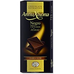 Chollo - Antiu Xixona Premium Chocolate Negro Intenso 72% 100g