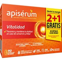 Chollo - Apisérum Vitalidad 90 cápsulas blandas