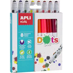 Chollo - APLI Kids 16805 Rotuladores Dots 8u