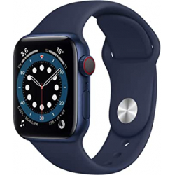 Chollo - Apple Watch Series 6 GPS + Cellular 40 mm Aluminio Correa deportiva Azul | M06Q3TY/A