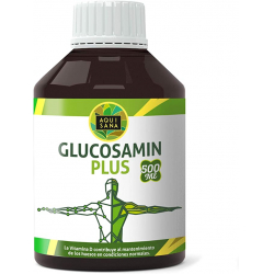 Chollo - Aquisana Glucosamin Plus Glucosamina líquida + Colágeno + Condroitina + MSM 500ml