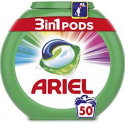 Chollo - Ariel 3en1 Pods Color & Style Detergente en Cápsulas (50 Lavados)