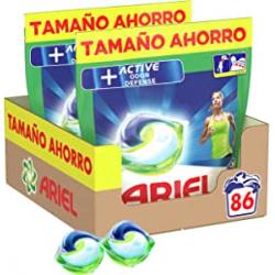 Chollo - Ariel Pods Active Detergente para lavadora en cápsulas Pack 2x 43 lavados