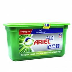 Chollo - Ariel Pods All in 1 detergente 3 en 1 en cápsulas para lavar ropa 35 Unidades