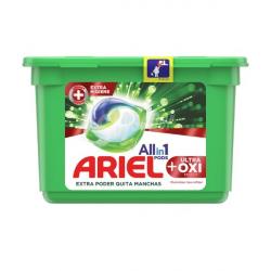 Chollo - Ariel Pods All in 1 Ultra Oxi Effect detergente ropa con quitamanchas 10 cápsulas
