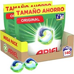 Chollo - Ariel Pods Allin1 Original 140 lavados