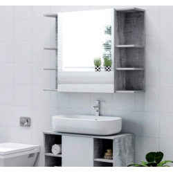 Chollo - Armario de Baño con Espejo Homfa HPB-133