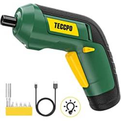 Chollo - Atornillador eléctrico TECCPO 3.6V + Juego de puntas - TDSC03P