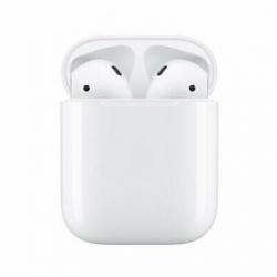 Chollo - Auriculares Apple Airpods V2 con Estuche de Carga (MV7N2ZM/A)