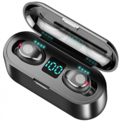 Chollo - Auriculares In-Ear F9 TWS Bluetooth 5.0 CVC 8.0