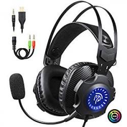 Auriculares Gaming EasySMX VIP003S RGB