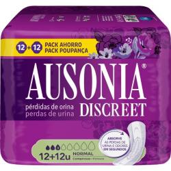 Chollo - Ausonia Discreet Normal compresas para pérdidas de orina 24 Unidades