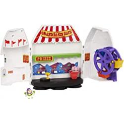 Chollo - Aventuras en la Feria de Buzz Lightyear | Toy Story 4 Minis  - Mattel GCY87