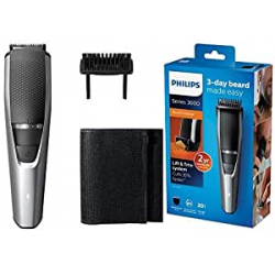 Chollo - Barbero inalámbrico Philips Beardtrimmer BT3216/14 Series 3000