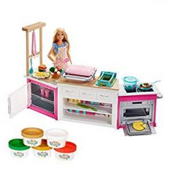 Chollo - Barbie Cocina Superchef - Mattel FRH73