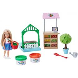Chollo - Barbie Muñeca Chelsea y su huerto - Mattel FRH75