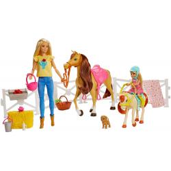 Chollo - Barbie y Chelsea con caballos Día de hípica | Mattel GLL70