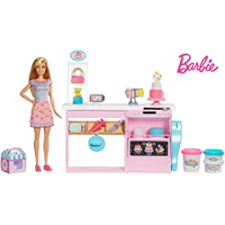 Chollo - Barbie y su pastelería - Mattel GFP59