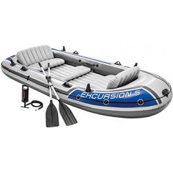 Chollo - Barca Hinchable Intex Excursion 5 con 2 Remos