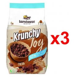 Barnhouse Krunchy Joy Bio Cocoa Pack 3x 375g