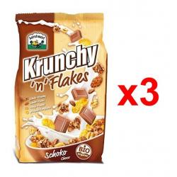 Chollo - Barnhouse Krunchy 'n' Flakes Choco Pack 3x 375g