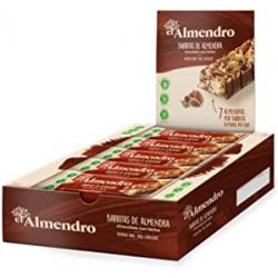 Chollo - Pack 10 Barritas de almendra y chocolate con leche El Almendro 10x25g