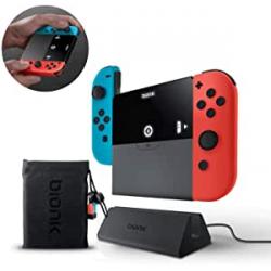 Chollo - Base de carga portátil Bionik Power Plate para Nintendo Switch - BNK-9016