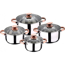 Chollo - Batería de cocina de 8 piezas San Ignacio Altea - Q2762