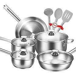 Chollo - Batería de Cocina + Kit de Utensilios Tibek 12 piezas