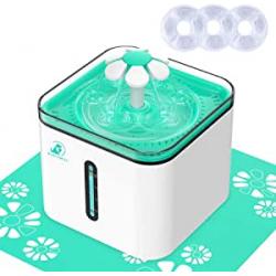 Chollo - Bonve Pet Bebedero automático para mascotas 2.5L con alfombrilla | MW-88711234