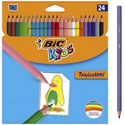 Chollo - Bic Tropicolors Blíster 24 Lápices de colores