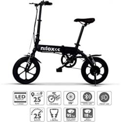 Chollo - Bicicleta eléctrica plegable Nilox ebike X2 Plus