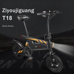 Chollo - Bicicleta Eléctrica Portable Ziyoujiguang T18 [Desde España]