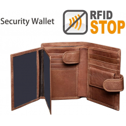Chollo - Billetera de seguridad con Bloqueo RFID