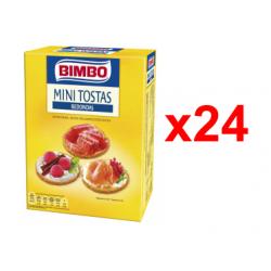 Chollo - Bimbo Mini tostas redondas Pack 24x 100g