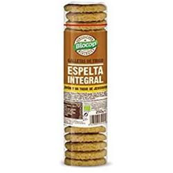 Biocop Galleta de trigo de espelta integral Jengibre y limón 250g
