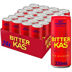 Chollo - Bitter KAS sin alcohol Latas Pack 24x 330ml