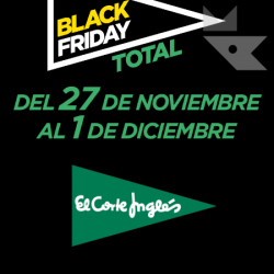 Chollo - Black Friday 2019 en El Corte Inglés