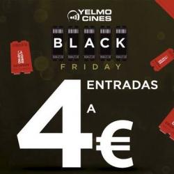 Chollo - Black Friday en Yelmo Cines con Entradas por 4 €