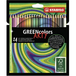 Chollo - Blíster 24 Lápices ecológicos Stabilo Greencolors Arty