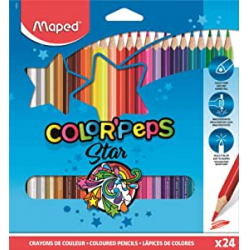 Chollo - Blíster 24 Lápices Maped Color'Peps