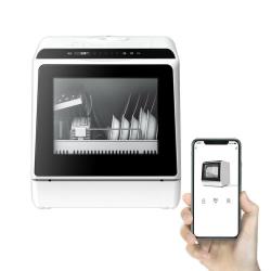 Chollo - BlitzWolf BW-CDW1 900W WiFi Lavavajillas compacto de encimera