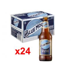 Chollo - Blue Moon Belgian White Cerveza artesanal Botella Caja 24x 33cl