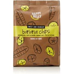 Chollo - Chips de Plátano Happy Belly 500g