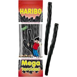 Chollo - Bolsa Haribo Mega Torcidas Regaliz Negro (200g)